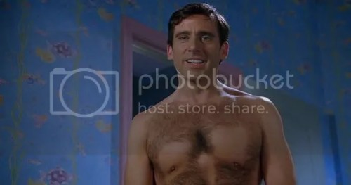 Steve Carell Shirtless