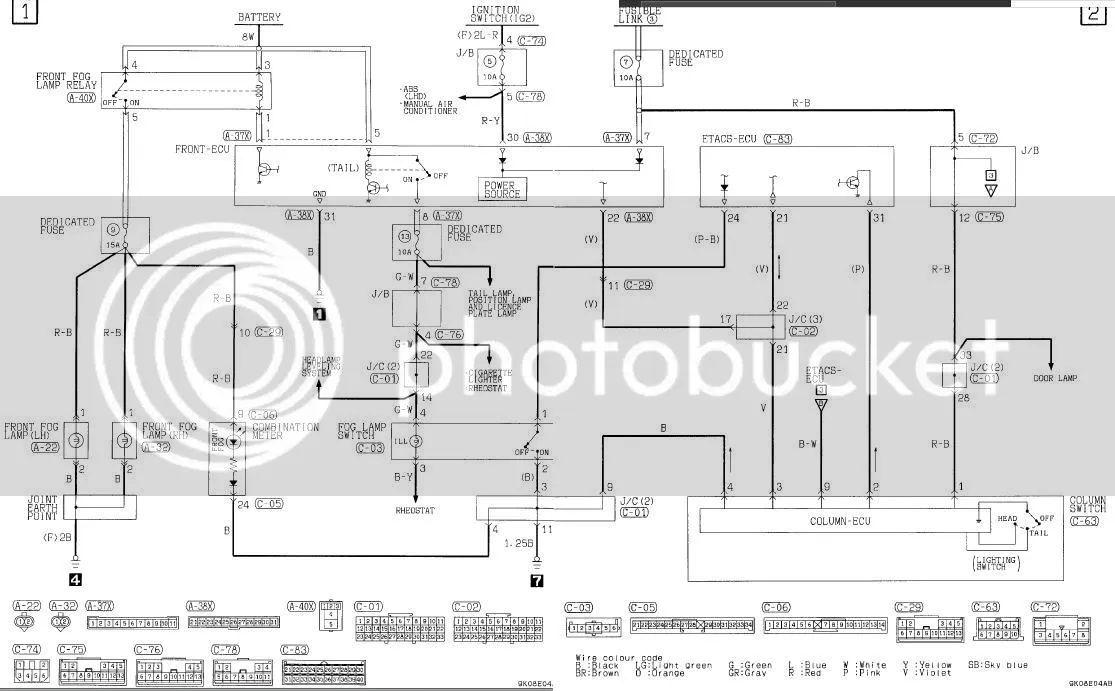 mitsubishi central locking wiring diagram