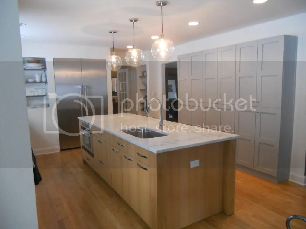 Maple Kitchen Cabinets With Marble Countertops Natural Maple Cabinets 43 White Carrara Tops Pls Share Pics
