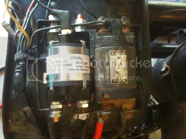 2000 Yamaha Golf Cart Solenoid Wiring Wiring Diagram