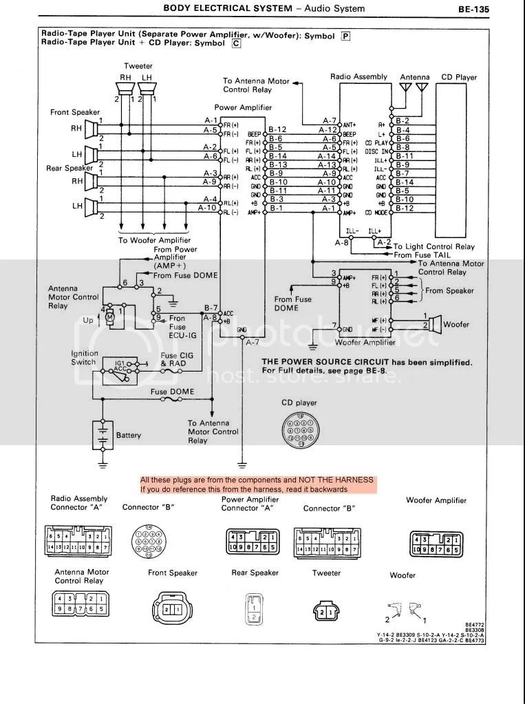 Pioneer Car Radio Wiring Wiring Diagram