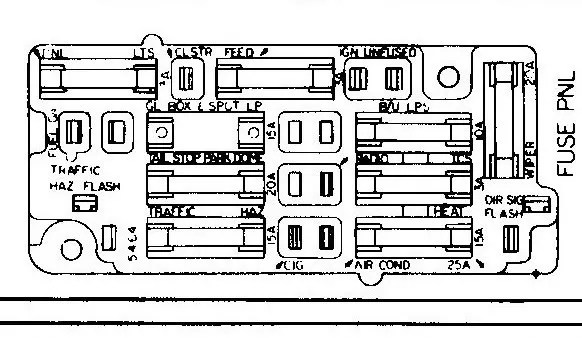 72 Chevy Fuse Diagram Electronic Schematics collections