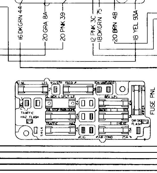 67 C10 Fuse Box Wiring Diagrams