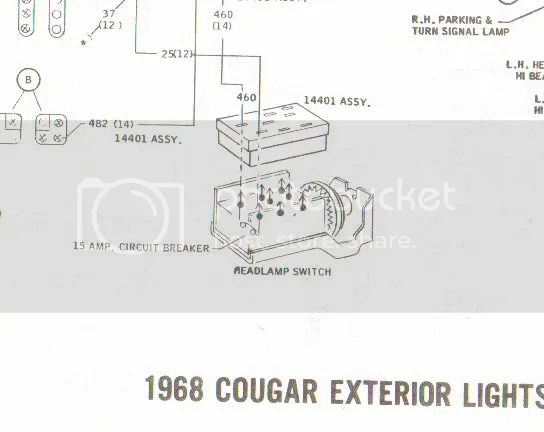 1968 Mustang Headlight Switch Wiring Diagram Index listing of