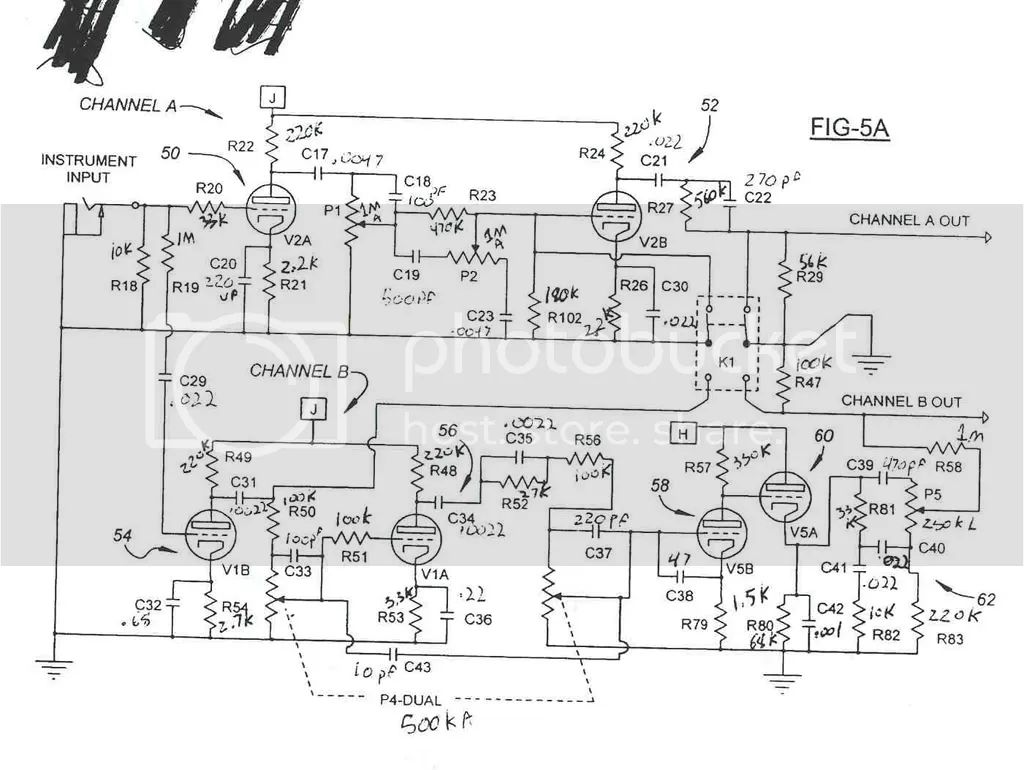 egnater amp schematics