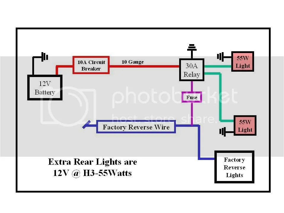 3 Way Switch Wiring With Backup Lights Wiring Diagram