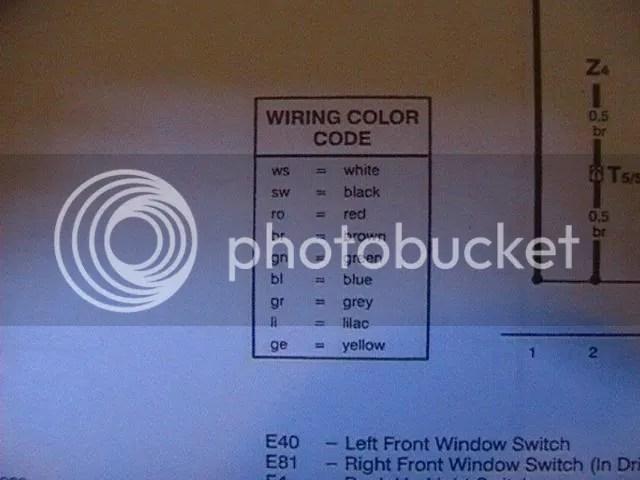 VWVortex - Power window wire diagram help