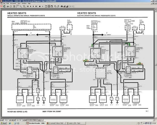 Rover Sports Register Forum \u2022 View topic - Late mk2 seat wiring diagrams