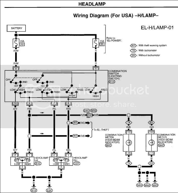 how to read auto wiring diagram