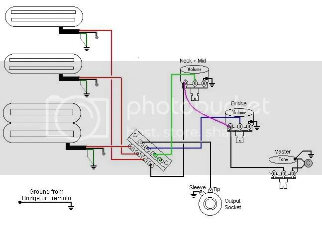 pickup wiring diagram additionally humbucker 4 wire wiring diagram