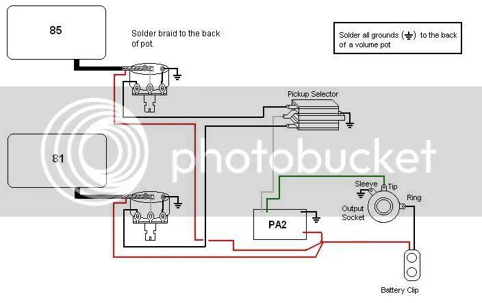emg solderless wiring harness