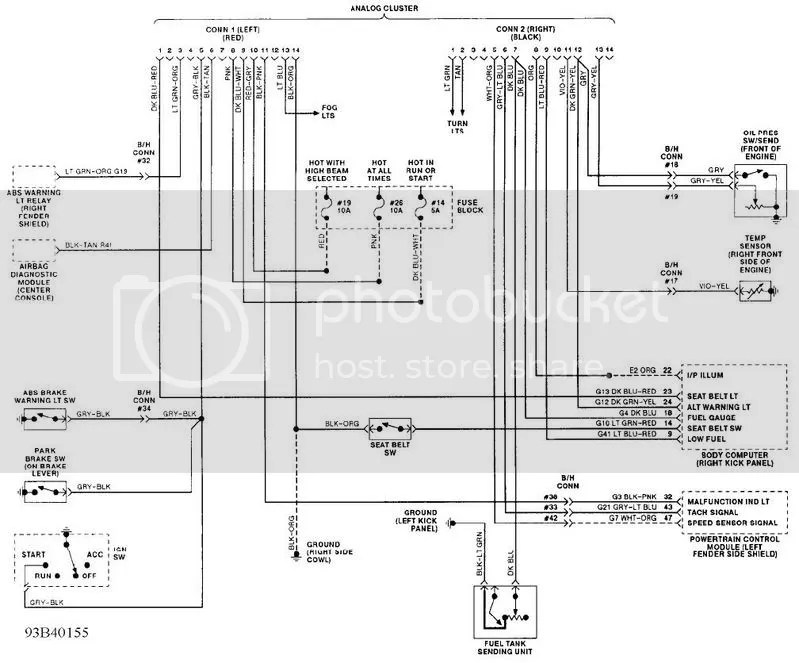 Srt 4 Wiring Harness Diagram Wiring Diagram