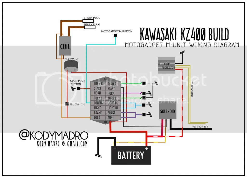 Kz400 Wiring Diagram Wiring Diagram