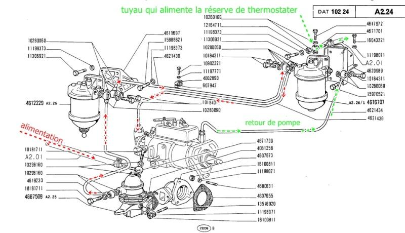 kubota schema moteur megane