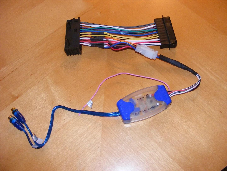 Subwoofer Wiring Adapter Wiring Diagram