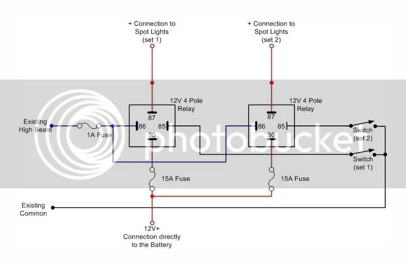 4x4 Spotlight Wiring Diagram - Wiring Diagrams Schema