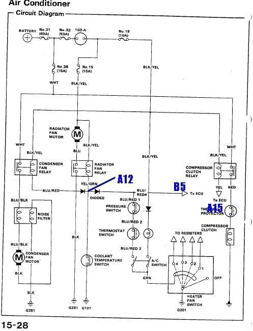 91 Acura Integra Engine Diagram Wiring Diagram