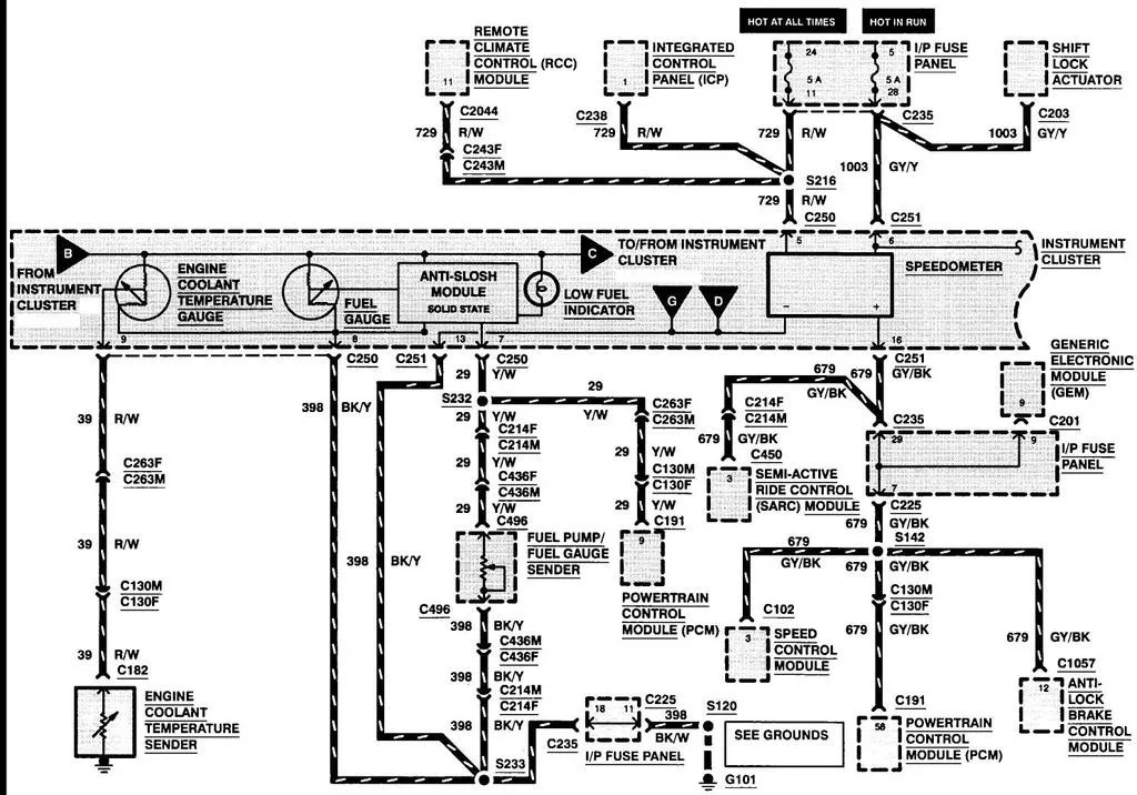 Ford Focus Speed Sensor Wiring Diagram - Somurich
