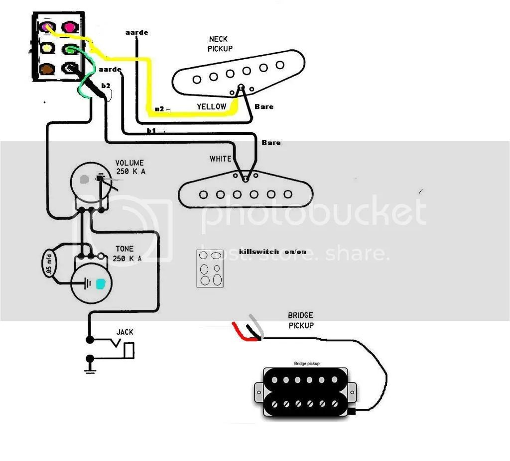 dimarzio super distortion t wiring diagram