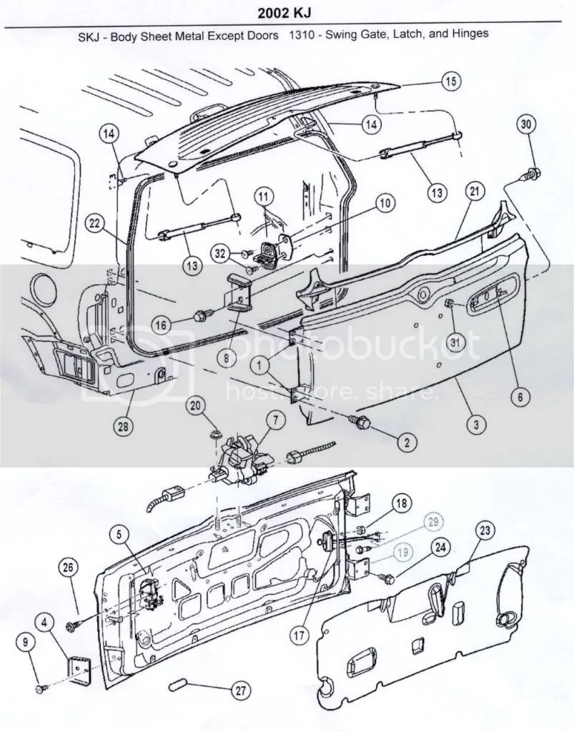1998 jeep grand cherokee lift gate wiring diagram