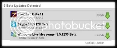 file hippo versiones beta File Hippo Verificar Automaticamente Las Últimas Versiones del Software Instalado en Tu Computadora