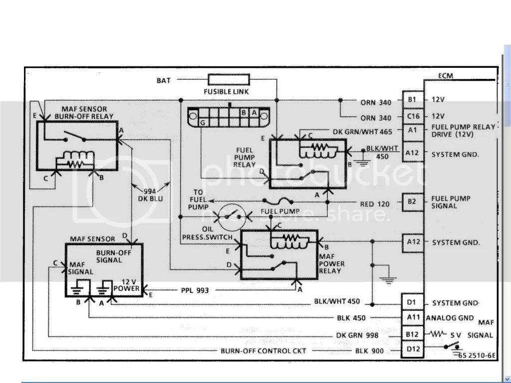 1988 corvette headlight relay wiring diagram