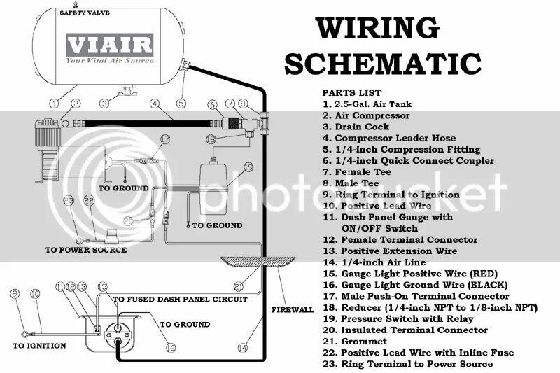 viair compressor wiring gauge