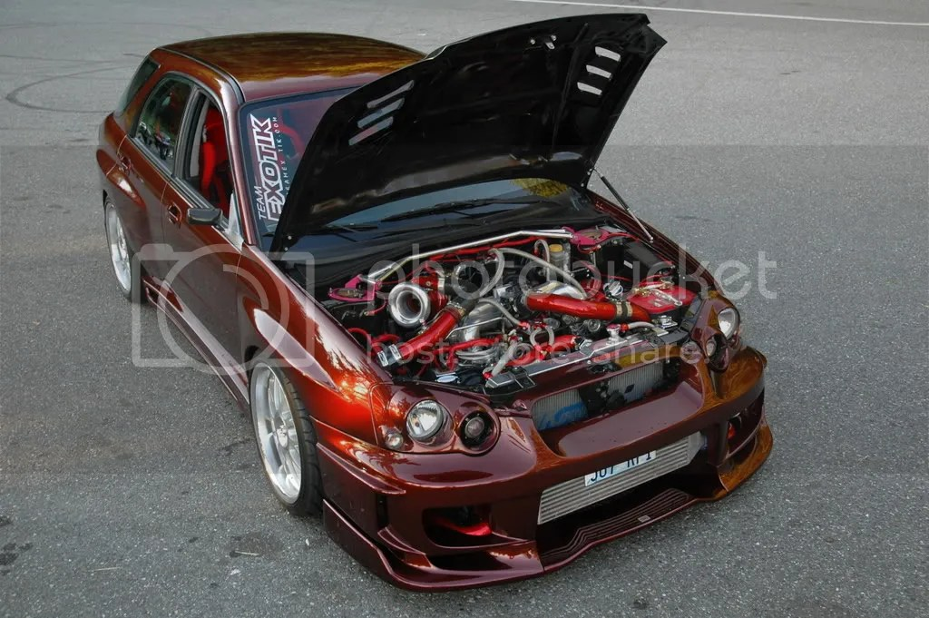 Custom painted engine bays? - NASIOC