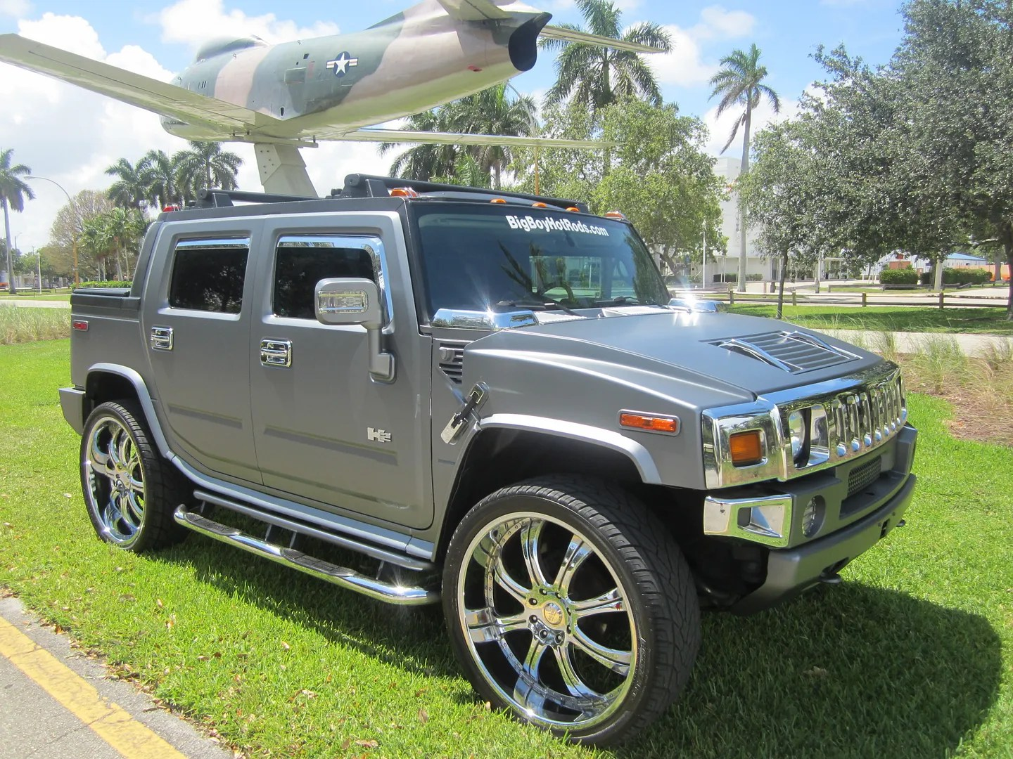 Sell Used 2005 Hummer H2 Sut Mint Truck 28 Inch Wheels
