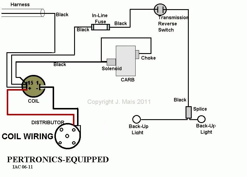 air cooled vw ignition coil wiring diagram