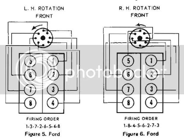 351 windsor spark plug diagram