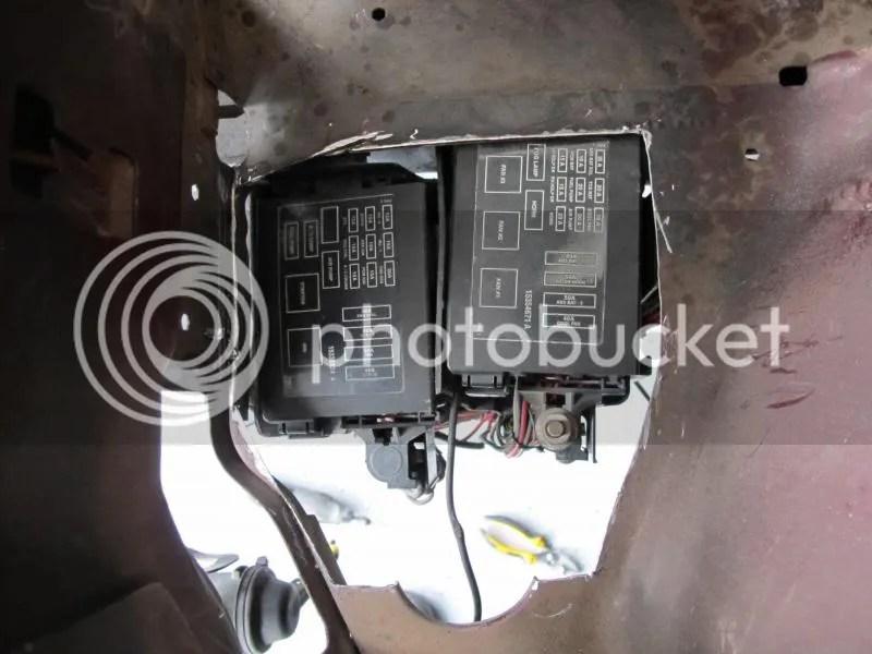 F body fuse box relocation? - LS1TECH - Camaro and Firebird Forum