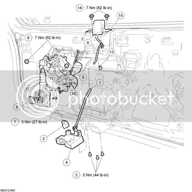 2007 ford escape door lock wiring diagram