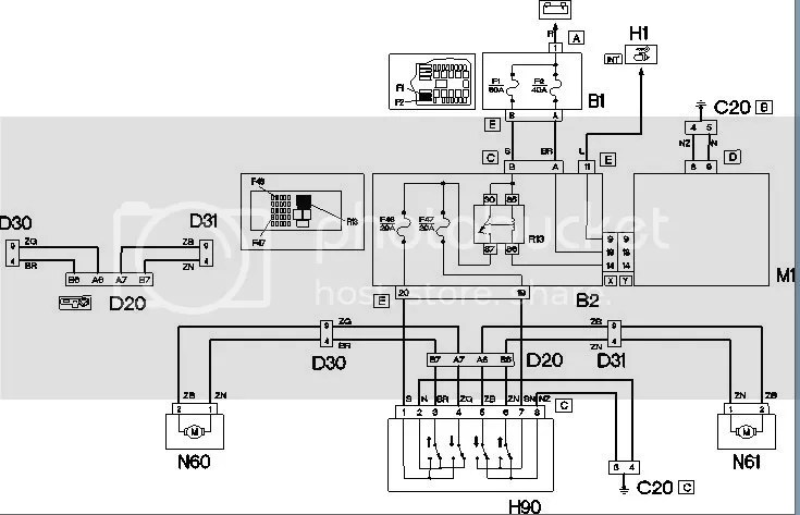 Technical Electric window wiring diagram - The FIAT Forum