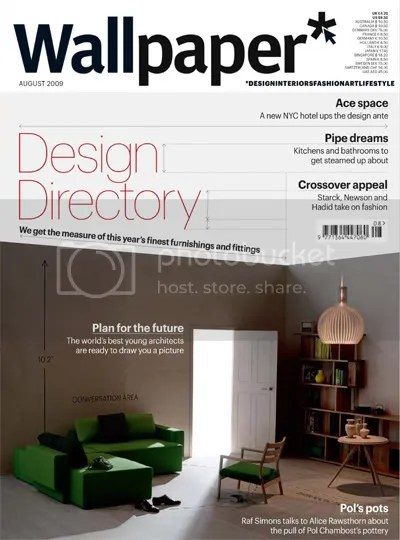 I like the organization of this table of contentions The sections - new blueprint interior design magazine