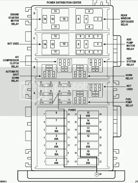 1997 jeep wrangler under hood wiring diagram