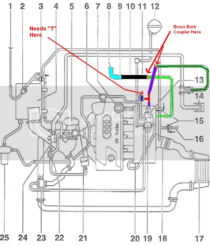vacuum hose diagram for 2001 audi a4 quattro image about wiring