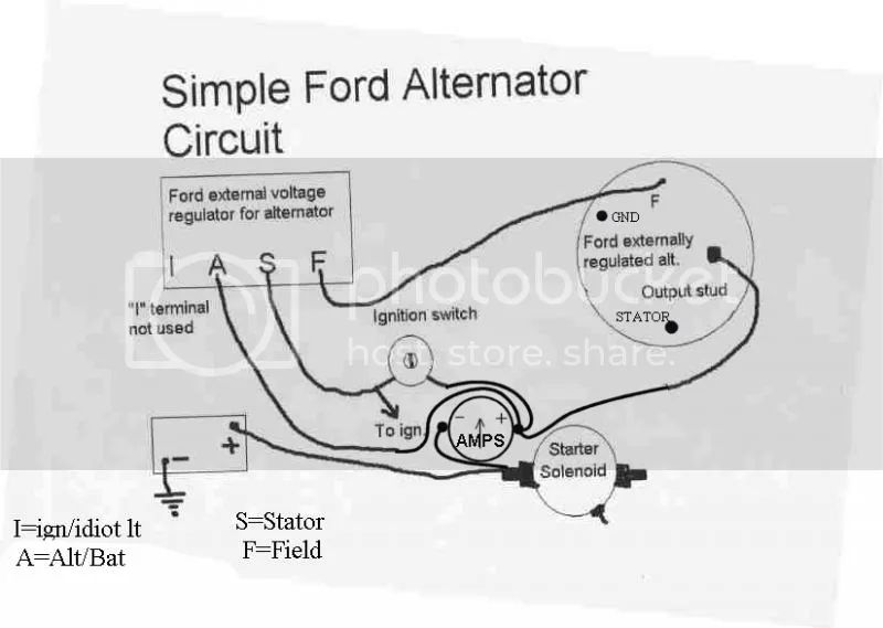 ford 9n ammeter wiring