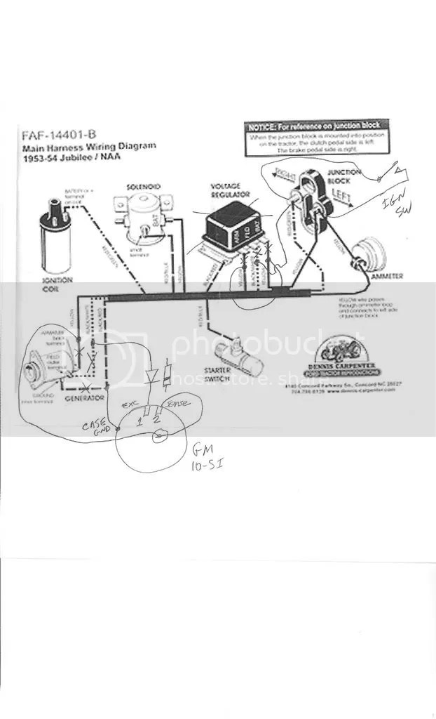 53 Ford Naa Wiring Diagram 12v Wiring Schematic Diagram
