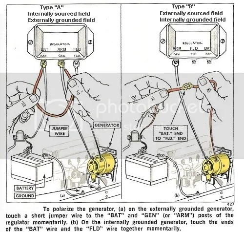 Polarizing voltage regulator - Yesterday\u0027s Tractors