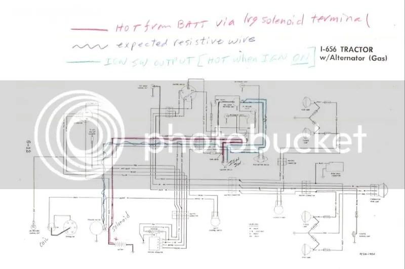 Farmall 656 Wiring Harness Wiring Diagram