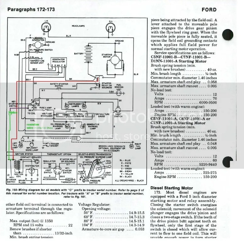 Ford 5000 Wiring Diagram - Wiring Diagrams Clicks