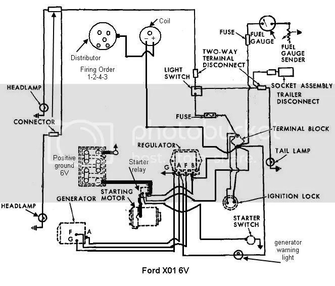 ford 601 workmaster tractor wiring diagram