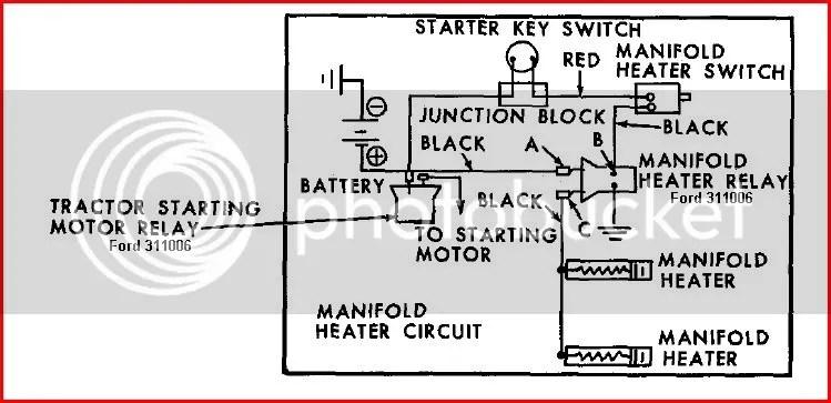 801 powermaster diesel glow plug wiring diagram - Ford Forum