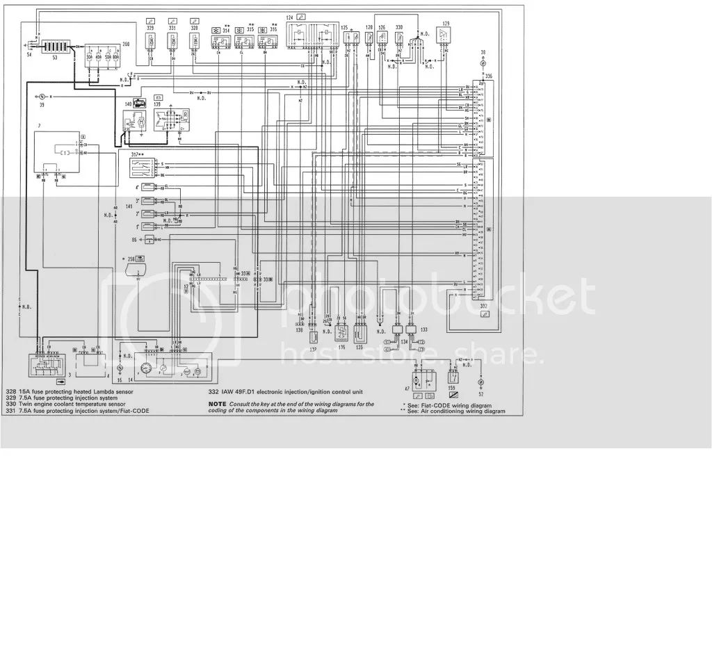 alfa 156 central locking wiring diagram