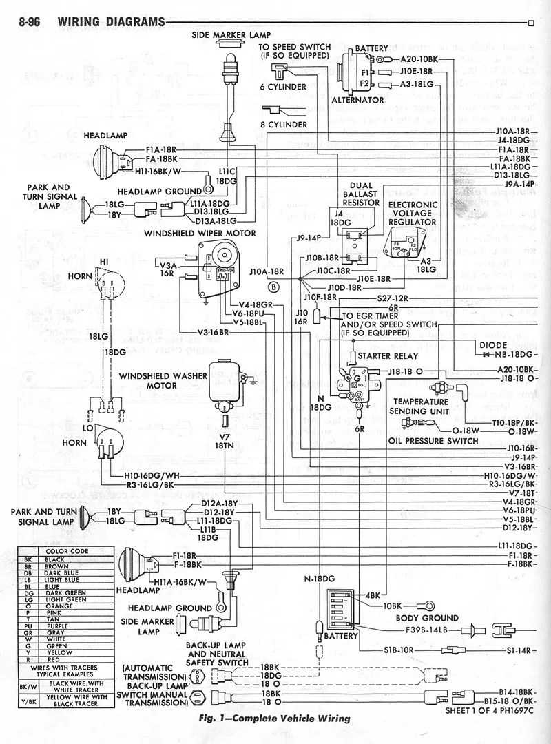 77 Dodge Pickup Wiring Diagram Wiring Schematic Diagram