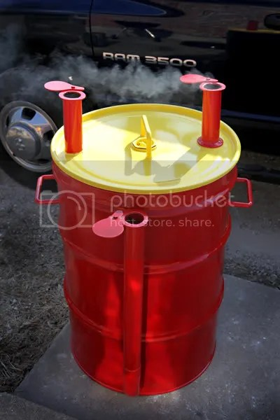Weber Bbq Starter Looking For Uds Exhaust Pipe Ideas... - The Bbq Brethren