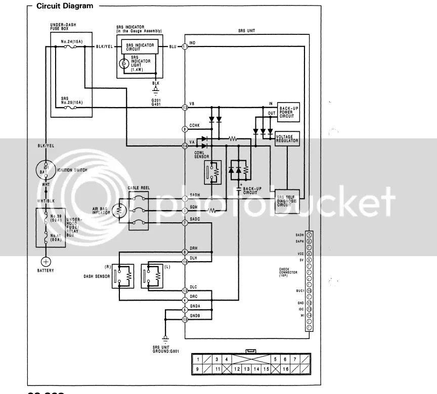 srs wiring diagram civic