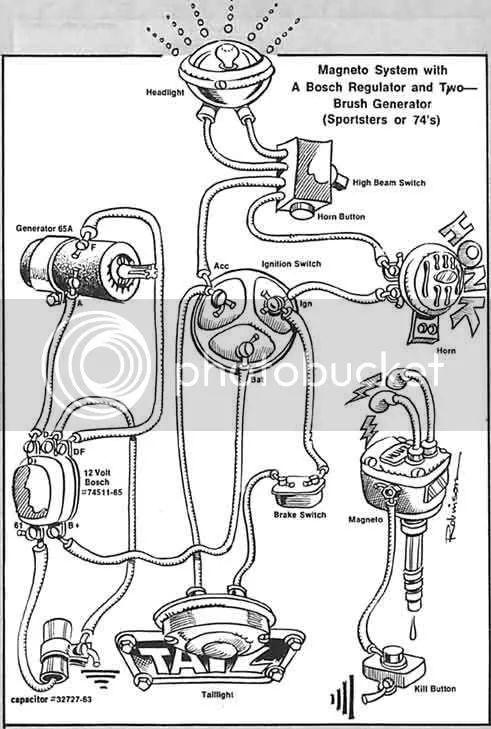 88 sportster regulator wiring diagram