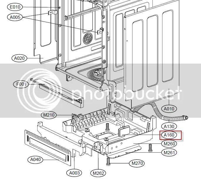 LG Dishwasher lost all power - no error codes, no LEDs Main PCB